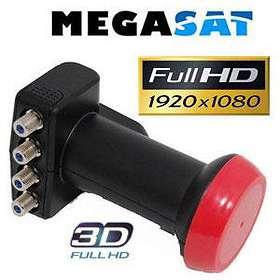 Megasat Diavolo Quattro LNB 0.1dB