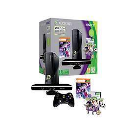 Microsoft Xbox 360 Slim 250GB (incl. Kinect + Dance Central 2 + Kinect Sports)