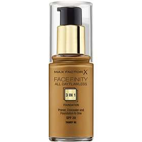 Max Factor Face Finity All Day Flawless 3in1 Foundation SPF20 30ml