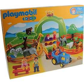 Playmobil 1.2.3 6754 Large Zoo