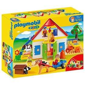 Playmobil 1.2.3 6750 Large Farm
