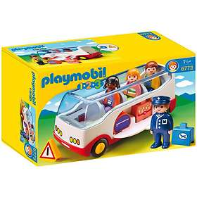 Playmobil 1.2.3 6773 Airport Shuttle Bus