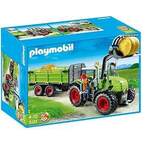 Playmobil Farm 5121 Grand tracteur avec remorque