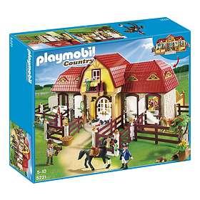 Playmobil Pony Ranch 5221 Stor Hästgård med Hagar