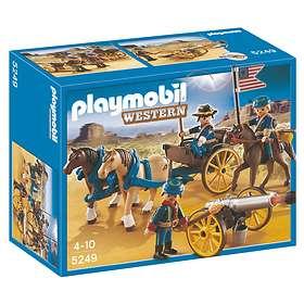 Playmobil Western 5249 Soldats américains avec canon