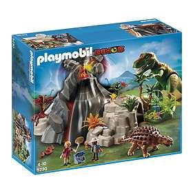 Playmobil Dinos 5230 Volcano with Tyrannosaurus