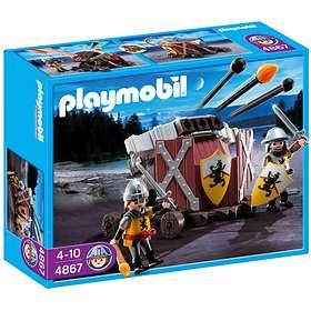 Playmobil Knights 4867 Baliste à 3 projectiles et chevaliers du Lion