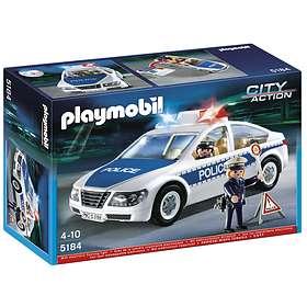 Playmobil Police 5184 Police Car with Flashing Light