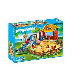 Playmobil Zoo 4851 Parc animalier avec famille