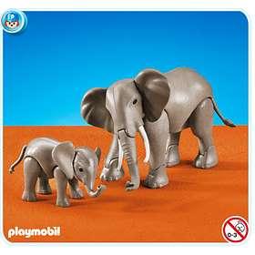 Playmobil Zoo 7995 Eléphant et éléphanteau