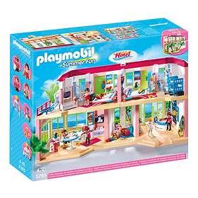 Playmobil Summer Fun 5265 Large Furnished Hotel