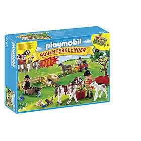 Playmobil Christmas 4167 Hästgård Advent Calendar 2012