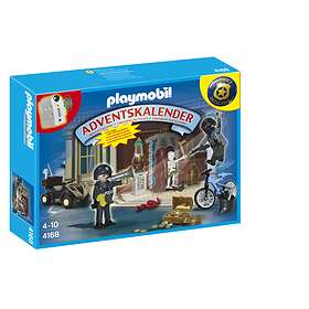 Playmobil Christmas 4168 Polis Advent Calendar 2012