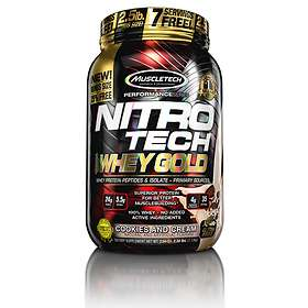 MuscleTech Nitro-Tech Whey Gold 0,9kg