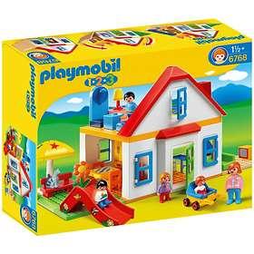 Playmobil 1.2.3 6768 Coffret Grande Maison