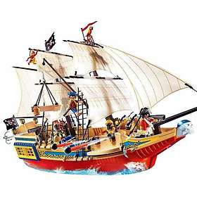 Playmobil Pirates 4290 Grand bateau camouflage des pirates