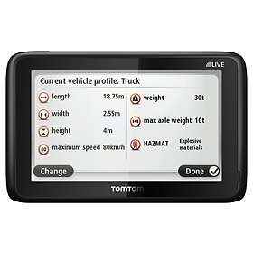 TomTom Pro 5150 Live Truck (Europe)