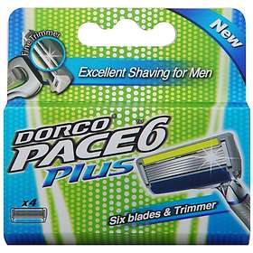 Dorco Pace6 Plus 4-pack