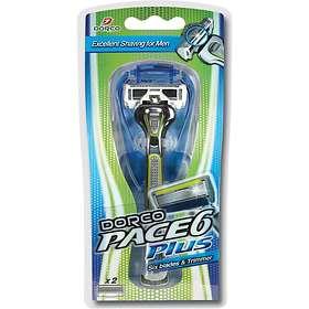 Dorco Pace6 Plus (+2 Ekstra Blader)