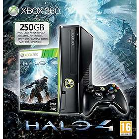 Microsoft Xbox 360 Slim 250Go (+ Halo 4)