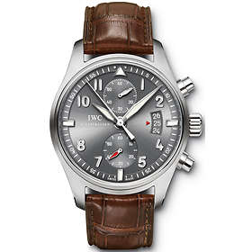 best website 96706 44cd1 Find the best price on IWC Pilot's IW371808 | Compare deals ...
