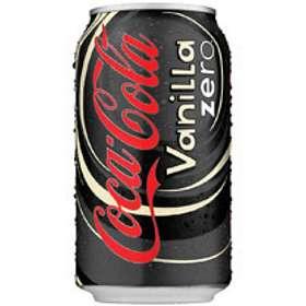 Coca-Cola Vanilla Zero Burk 0,33l