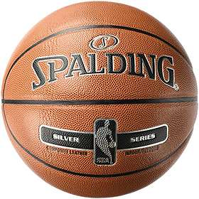 Spalding NBA Silver Indoor/Outdoor