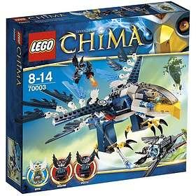LEGO Legends of Chima 70003 Eris Örnjaktplan