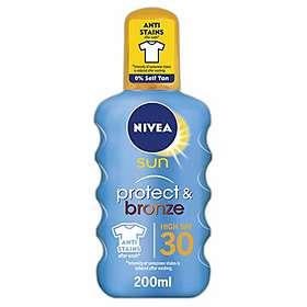 Nivea Sun Protect & Bronze Spray SPF30 200ml