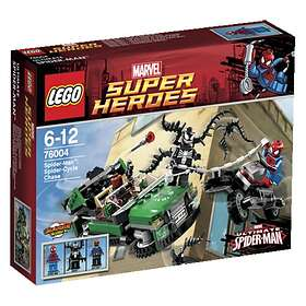LEGO Marvel Super Heroes 76004 Spiderman Spidercyclejakten