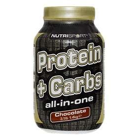 Nutrisport Protein + Carbs 1.4kg