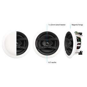 Q Acoustics Qi65CW (pair)