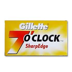 Gillette 7 O'Clock SharpEdge Double 5-pack