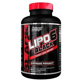 Nutrex Research Lipo-6 Black 120 Kapslar