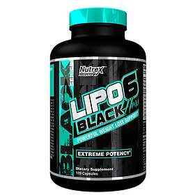 Nutrex Research Lipo-6 Black Hers 120 Capsules