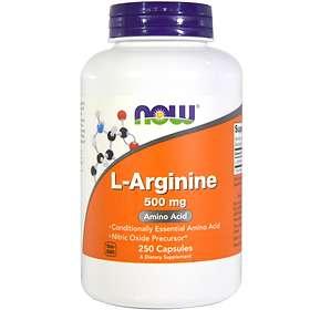 Now Foods L-Arginine 500mg 250 Capsules