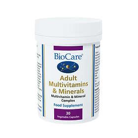 BioCare Adult Multivitamins & Minerals 30 Kapslar