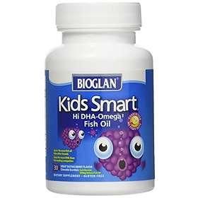 Bioglan Kids Smart Omega 3 Fish Oil 500mg 50 Kaplsar