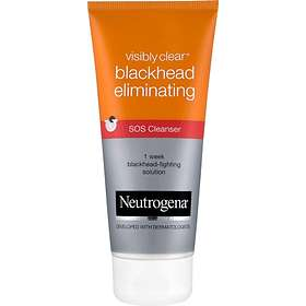 neutrogena visibly clear blackhead eliminating sos cleanser