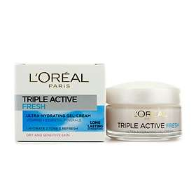 L'Oreal Triple Active Fresh Ultra-Hydrating Gel-Cream Dry/Sensitive Skin 50ml