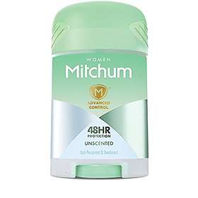 Mitchum Advanced Control for Women Unscented Deo Stick 41g