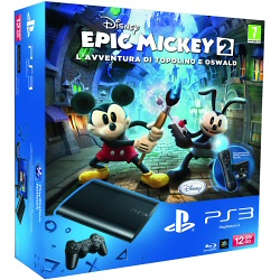 Sony PlayStation 3 Slim 12Go (+ Disney Epic Mickey 2: The Power of Two)