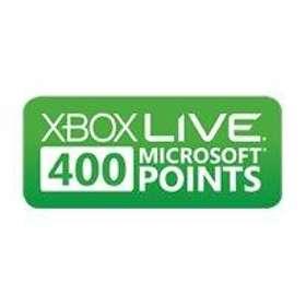 Microsoft Xbox Live Points 400