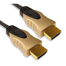 Cable Mountain Ultimate Gold HDMI - HDMI High Speed with Ethernet 1m