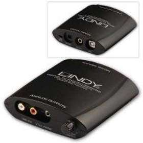 Lindy USB Digital to Analogue Audio Converter & Headphone Amp