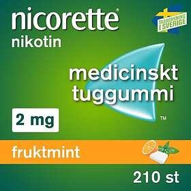 McNeil Nicorette Tyggegummi Fruktmint 2mg 210stk