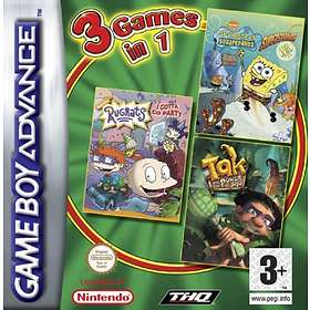 3 Games in 1: Tak + Rugrats + Spongebob: SuperSponge (GBA)