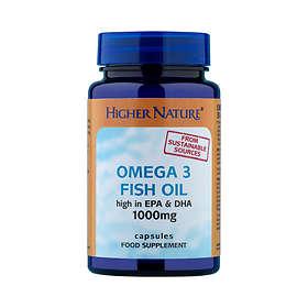 Higher Nature Fish Oil Omega 3 1000mg 90 Capsules