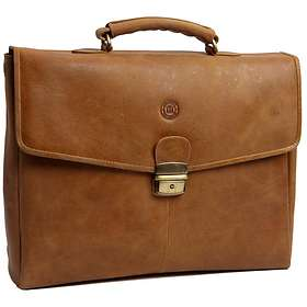 D. Bramante 1928 Leather Briefcase 14""