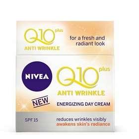 Nivea Q10 Plus Anti-Wrinkle Energizing Day Cream SPF15 50ml